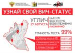 Всероссийская акция «Тест на ВИЧ. Экспедиция-2019» в Угличе