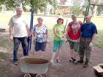 17 июня комитет ТОС «Екатериновка» вышел на детско-спортивную площадку на ул.Голубева для проведения работ по благоустройству территории