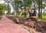 Продолжаются работы по реконструкции Парка детства