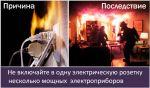 «Неисправный обогреватель может стать причиной пожара!»